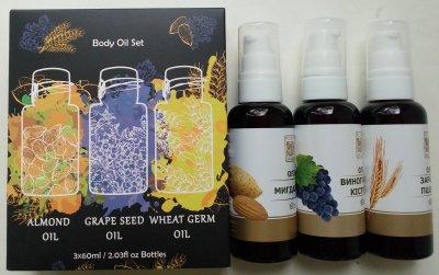 Набор растительных масел Flora Secret 60 мл х 3 шт (4820174891435)