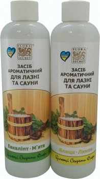 Ароматическое средство Flora Secret для бани и сауны Пара банная 250 мл х 2 шт (4820112080587)