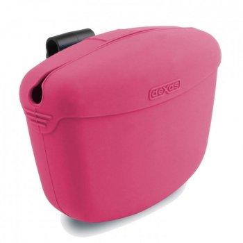 """""""Pooch Pouch"""" Контейнер для ласощів з кріпленням на пояс для собак Рожевий Dexas BGL-EZ-578"""