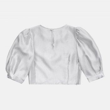 Блузка Koton 0YAK34622OW-038 Silver