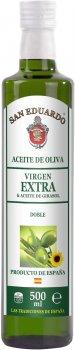 Смесь растительных масел San Eduardo Экстра вирджин с подсолнечным маслом 500 мл (5060235658327)