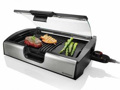 Гриль контактний SilverCrest STGG 1800 A1 Tisch-grill
