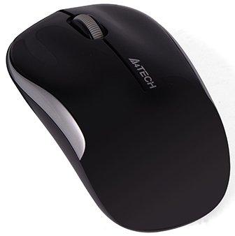 Миша A4Tech G3-300N Wireless Black/Silver (4711421932738)