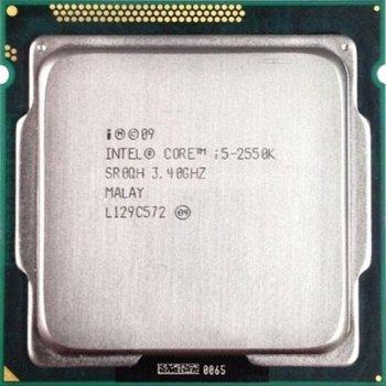 Процессор Intel Core i5-2550K (SR0QH) tray б/у