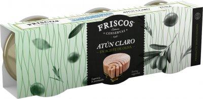 Тунец Friscos в оливковом масле 3 шт х 80 г (8410315060132)