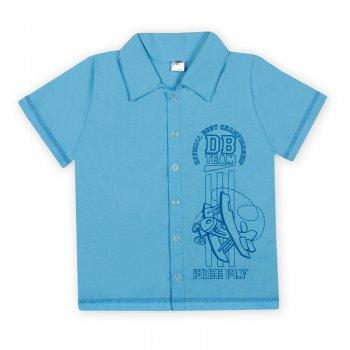 Футболка тениска Фламинго Team голубая 0185