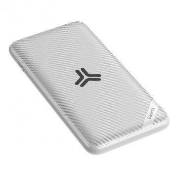 УМБ Baseus Power Bank Wireless Charger Baseus S10 Bracket 10000 mAh 18W White (PPS10-02)