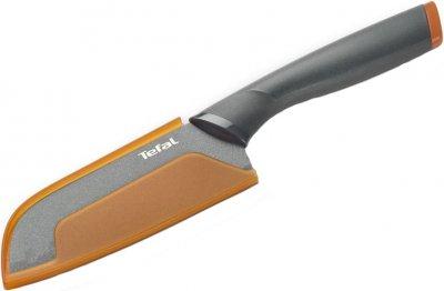 Нож Tefal Fresh Kitchen сантоку с чехлом 12 см (K1220114)