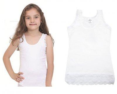 Майка для девочек, 2шт, 4055, Baykar, 05, белый