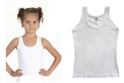 Майка для девочек, 2шт, 4540, Baykar, 05, белый