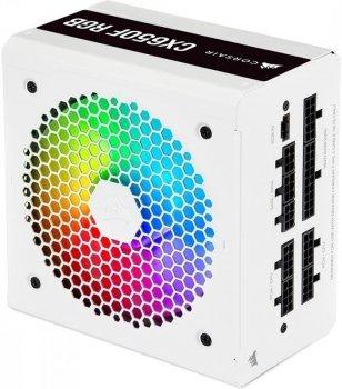 Блок питания Corsair CX650F RGB White (CP-9020226-EU) 650W