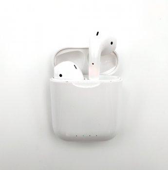 Бездротові Bluetooth-навушники KD10 tws v8 кейс з бездротовою зарядкою White (i10kd001)