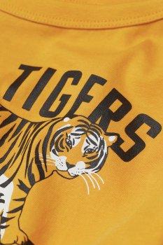 Футболка с длинным рукавом H&M Team Tigers Желтый