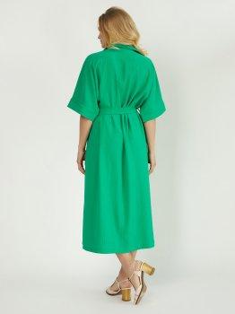 Платье Miledi Кимо 101533 Зеленое
