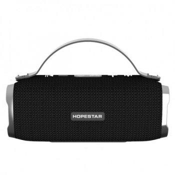 Потужна портативна bluetooth колонка Sound System H40 Pro Hopestar Оригінал Чорна