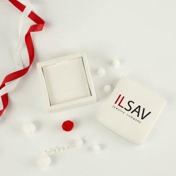 Серебряный браслет ILSAV 002/3ч (21,5см браслет с чернением)