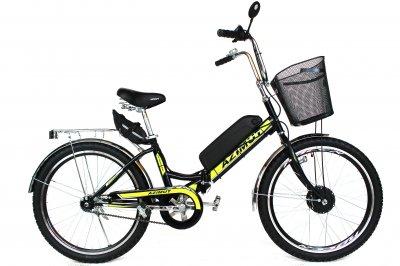 Электровелосипед складной Складник 24 колесо 36В 350Вт 8Ач литий ионный аккумулятор