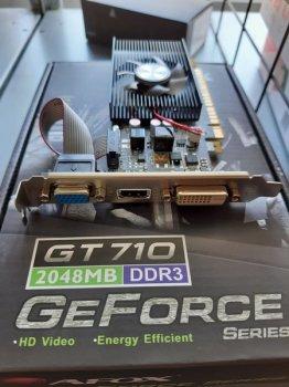 Видеокарта AFOX GeForce GT710 2GB DDR3 (AF710-2048D3L1-V2)