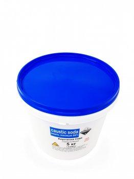 Каустическая сода Klebrig для устранения заторов водопровода 5кг ведро КС-5