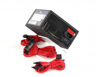 Блок Питания Frime OCTO-600 APFC COLOR BOX