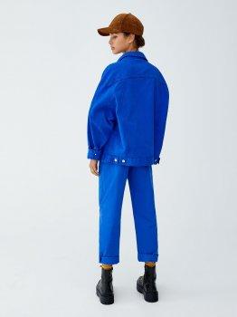 Джинсовая куртка Pull & Bear 9711351420-ACXD Синяя