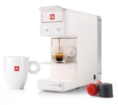 Кофемашина капсульная ILLY Y3.3 White + 14 капсул