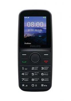 Philips Xenium E109 Dual Sim Black (CTE109BK_00)