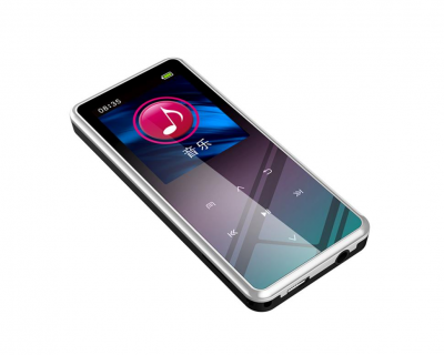 MP3 плеер JNN M12 Original Bluetooth Hi-Fi 8Gb Серебристый