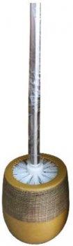 Ершик для туалета Sahara с керамической подставкой Samp;T ST-887-05-06