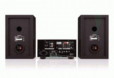 CD минисистема с Bluetooth Denon DT1 Black