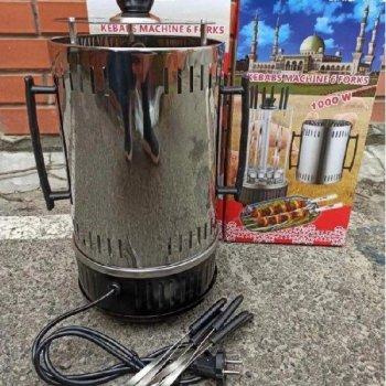 Шашлычница вертикальная Kebabs Machine электрическая на 6 шампуров 1000W (HF-00008659)