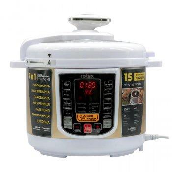 Мультиварка скороварка пароварка Rotex 5 литров 900 Вт. Лучшая йогуртница домашняя фритюрница мощная помощница на кухне рисоварка REPC58GW