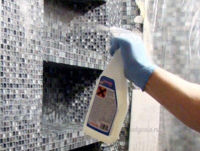 Очиститель смывка для эпоксидной затирки Litonet Gel EVO, 750 мл.