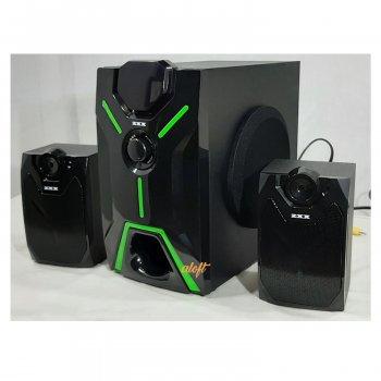 Акустическая система 2.1 музыкальный центр ZXX 25Вт. USB/SD/AUX/Bluetooth/FM-радио.(4805)