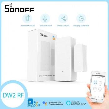 SONOFF DW2 - Wi-Fi Беспроводной датчик открытия двери / окна