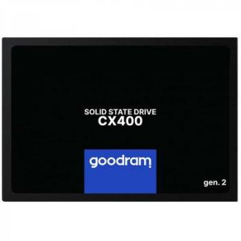 Накопитель SSD 2.5 дюйма 128GB GOODRAM (SSDPR-CX400-128-G2)