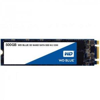 Накопитель SSD M.2 2280 500GB WD (WDS500G2B0B)