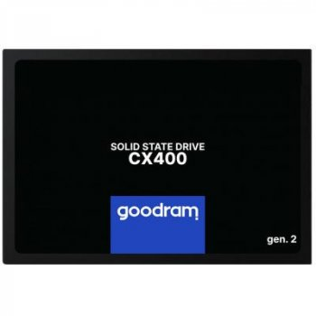 Накопитель SSD 2.5 дюйма 256GB GOODRAM (SSDPR-CX400-256-G2)