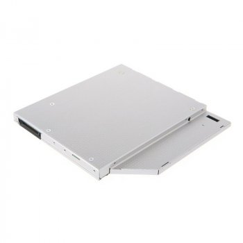Карман для второго диска HDD/SSD вместо DVD привода 9.5мм (Optibay Caddy) SATA to IDE