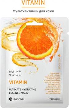 Ежедневная увлажняющая маска с витаминами Jkosmec Vitamin Ultimate Hydrating Essence Mask 28 мл (8809540516802)