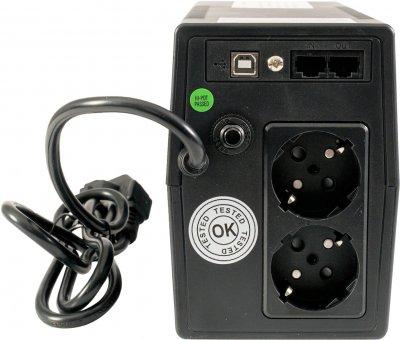 Tescom Leo II line-Interactive Pro LCD 850 BA (Leo850ALCD)