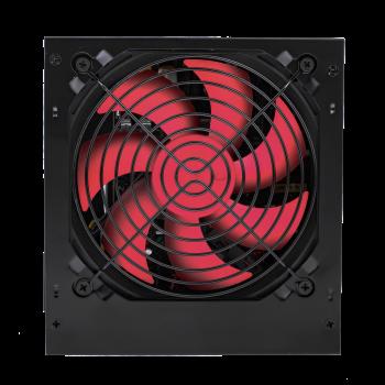 Блок живлення ATX-550W, 12см, 4xSATA, PCI Dх2 6 PIN 24 pin power supply BLACK без кабелю живлення