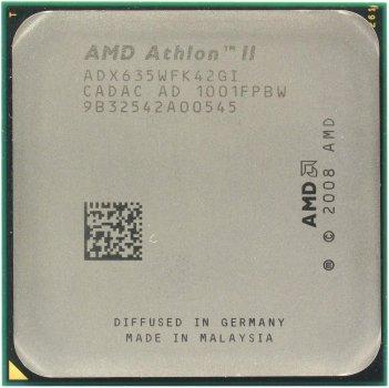 Процессор AMD Athlon II X4 635 (ADX635WFK42GM), б/в