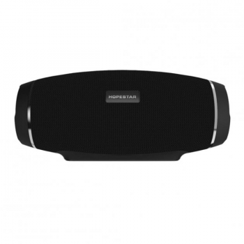 Мощная беспроводная портативная Bluetooth колонка Sound System H27 Pro Hopestar, Черный
