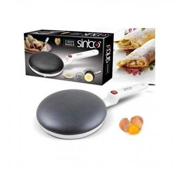 Блинница электрическая погружная Sinbo Sp 5208 сковородка для блинов настольная 20 см 650 Вт