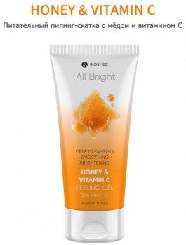 Пилинг-скатка с медом и витамином С Jkosmec All Bright Honey And Vitamin C Basic Peeling Gel 180 мл (8809540517113)