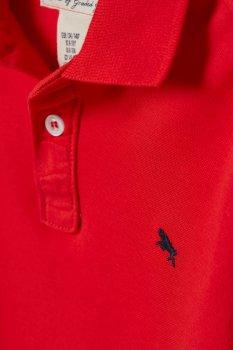 Футболка-поло H&M 0696429004 Красный 60558