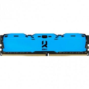 Модуль памяти GOODRAM DDR4 8Gb 3200MHz IRDM X BLUE (IR-XB3200D464L16SA/8G) (F00246771)