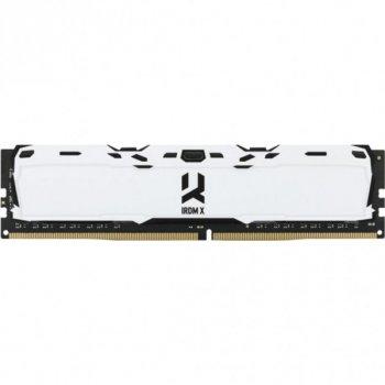 Модуль памяти GOODRAM DDR4 8Gb 3200MHz IRDM X WHITE (IR-XW3200D464L16SA/8G) (F00246773)