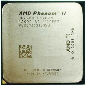 Процессор AMD Phenom II X4 980 3.7GHz sAM2+/AM3 125W б/у
